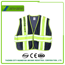high visibility reflective security vest